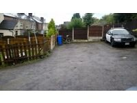 Off Street Parking to rent in private 6 space residential car park close to Sheffield city centre
