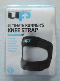 ULTIMATE RUNNERS KNEE STRAP - SUPPORT LEVEL 3 - ONE SIZE - FITS MOST