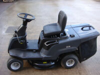 MOUNTFIELD RIDE ON MOWER RETURNS GRADED MODEL R27M, WILL BE ASSEMBLED READY FOR USE