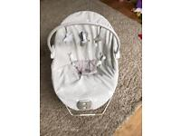 Mamas and Papas baby bouncer with vibration and lullaby