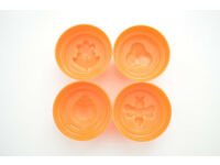 Pudding mould with four different motives