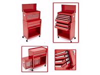 PORTABLE 6 DRAWERS TOOL TOP CHEST STEEL ROLLER CABINET BOX GARAGE TOOLS