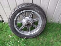 yamaha xs650 cast alloy wheels