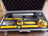 Laser level in a solid case has come out my dads loft only £20