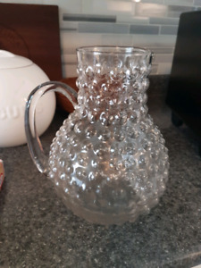 Selling: Glass Pitcher
