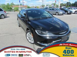 2015 Chrysler 200 LIMITED | SAT RADIO | BACKUP CAM | NAV