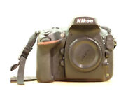 Nikon D800. Full Frame DSLR Body
