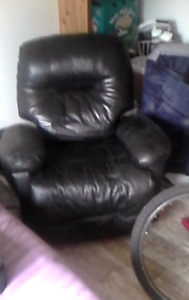 Leather recliner need gone asap no decent offer refused