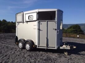 Ifor Williams Horse trailer, HB506, silver, 2010,