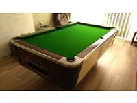 POOL TABLE 4ft X 7ft SLATE BED RILEY
