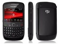 BB Blackberry 8520 unlocked to all nets black excellent condition with BBM pin etc