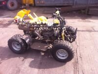 110 quad for spares or repair