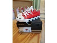 Brand New Red Converse Size 9