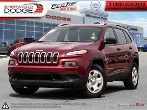 2014 Jeep Cherokee SPORT | 510 WARR| BLUETOOTH| KEYLESS ENTRY|