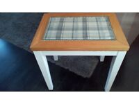 0ak/cotton tail white table, excellent condition.