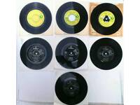Collection of 7 Pink Floyd vinyl records from the late 60s