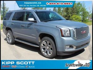 2016 GMC Yukon Denali 4WD, Leather, Nav, DVD, HUD, Fully Loaded!