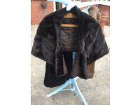Vintage Fur Stole/Wrap