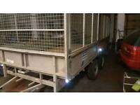 Ifor Williams trailer full sides LL126G