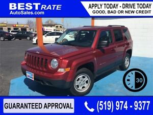 JEEP PATRIOT - APPROVED IN 30 MINUTES! - ANY CREDIT LOANS