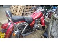 Lowride Cruiser Motorbike.