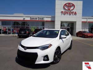 2015 Toyota Corolla S CVT ONE OWNER LIKE NEW