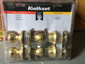 KwikSet entrance lockset ($ reduced)
