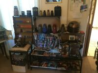 The ultimate Dr. Who collection!!! Rare items must be seen!!