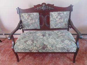 Love Seat & 3 Chairs
