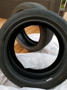 2 FIRESTONE  FR740 Performance Tires
