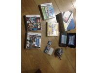 NINTENDO 3DS XL BLUE WITH GAMES
