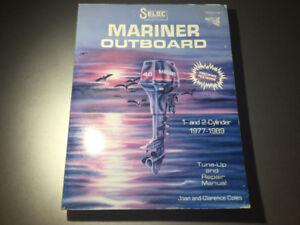 1977-1989 Mariner Outboards 1& 2 Cylinder Shop Manual 2-60 HP