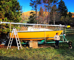 For Sale Trailerable sailboat DS-22