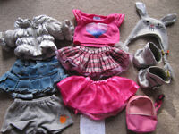 Bundle 13- set of BABW or equivalent bear clothes + silver boosts and bunny hat-£10