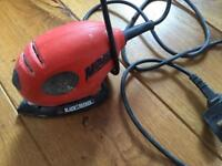 Black and Decker Mouse Nosed hand Held electric Sander
