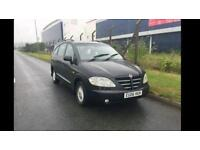 Ssangyong Rodius 2.7 CDI 7 seater. Mercedes Benz engine