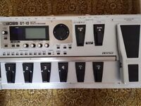 Boss GT-10 guitar multi-effects pedal. Excellent condition.