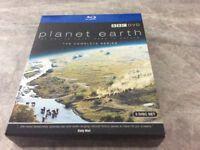 Planet Earth blue ray DVD set