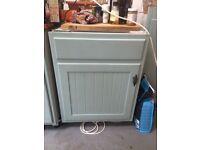 NEFF Under counter Fridge and 3 matching wall cabinets
