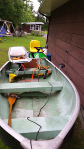 Boat, Motor and trailer $1000