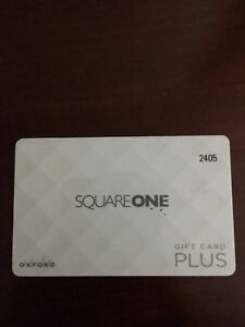 Square one gift card