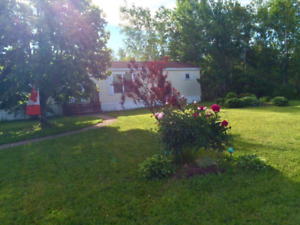 Lrg mini home for sale on OWN PRIVATE LAND in beautiful Ammon!!