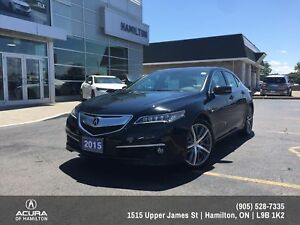 2015 Acura TLX Elite Elite All Wheel Drive , Super low Kms!