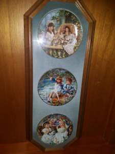 Sandra Kuck Framed Limited Edition Plates