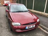 Ford escort mk 5 low miles been in our family since new