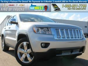 2012 Jeep Grand Cherokee Overland Leather | PST Paid