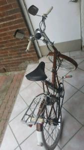 "Vintage Raleigh Bike 20"" Foldable Collectable bike"