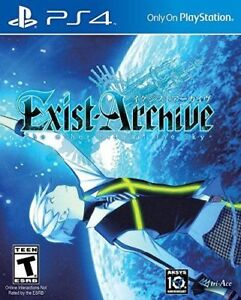 Exist Archive PS4 + Art Book