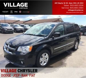 2016 Dodge Grand Caravan Crew+|NAV|lEATHER|BLUETOOTH|PWR DRS