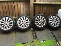 Nissan micra 2011 Alloys with tyers